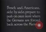Image of WWI French and American troops dig trenches Marne France, 1918, second 9 stock footage video 65675039783
