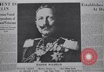 Image of Kaiser Wilhelm  in Holland Holland Netherlands, 1918, second 6 stock footage video 65675039784