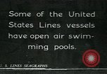 Image of United States Lines flagship SS Leviathan Atlantic Ocean, 1928, second 10 stock footage video 65675039799