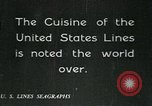 Image of United States Lines flagship SS Leviathan Atlantic Ocean, 1928, second 5 stock footage video 65675039800