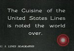 Image of United States Lines flagship SS Leviathan Atlantic Ocean, 1928, second 6 stock footage video 65675039800