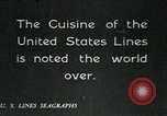 Image of United States Lines flagship SS Leviathan Atlantic Ocean, 1928, second 7 stock footage video 65675039800