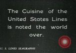 Image of United States Lines flagship SS Leviathan Atlantic Ocean, 1928, second 8 stock footage video 65675039800