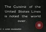 Image of United States Lines flagship SS Leviathan Atlantic Ocean, 1928, second 9 stock footage video 65675039800