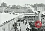 Image of American troops leave France at end of World War 1 Brest France, 1919, second 2 stock footage video 65675039808
