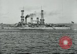 Image of United States battleships Brest France, 1919, second 8 stock footage video 65675039809