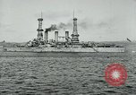 Image of United States battleships Brest France, 1919, second 10 stock footage video 65675039809