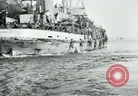 Image of American troops sail for home after World War 1 Brest France, 1919, second 2 stock footage video 65675039810