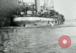 Image of American troops sail for home after World War 1 Brest France, 1919, second 6 stock footage video 65675039810