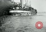Image of American troops sail for home after World War 1 Brest France, 1919, second 8 stock footage video 65675039810