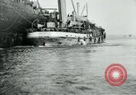 Image of American troops sail for home after World War 1 Brest France, 1919, second 9 stock footage video 65675039810