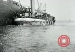 Image of American troops sail for home after World War 1 Brest France, 1919, second 10 stock footage video 65675039810