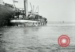 Image of American troops sail for home after World War 1 Brest France, 1919, second 12 stock footage video 65675039810