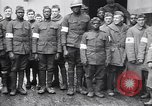 Image of Members of American Army medical corps  Brest France, 1919, second 10 stock footage video 65675039812
