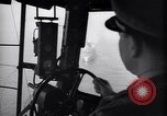 Image of pilot in cockpit of blimp New York United States USA, 1945, second 5 stock footage video 65675039817