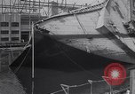 Image of SS Normandie New York United States USA, 1943, second 10 stock footage video 65675039823
