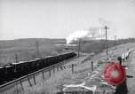 Image of Steam locomotives pulling ore-carrier trains United States USA, 1957, second 2 stock footage video 65675039825