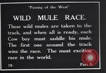 Image of wild mule race United States USA, 1927, second 10 stock footage video 65675039852