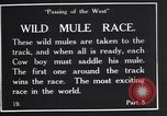Image of wild mule race United States USA, 1927, second 11 stock footage video 65675039852