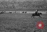 Image of steer ride United States USA, 1927, second 7 stock footage video 65675039853