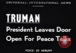 Image of Truman Tullahoma Tennessee USA, 1951, second 1 stock footage video 65675039861