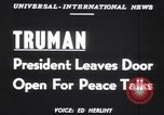 Image of Truman Tullahoma Tennessee USA, 1951, second 4 stock footage video 65675039861