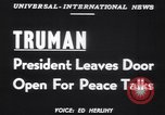 Image of Truman Tullahoma Tennessee USA, 1951, second 6 stock footage video 65675039861