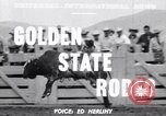 Image of cowboys Salinas California USA, 1951, second 2 stock footage video 65675039865