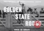 Image of cowboys Salinas California USA, 1951, second 4 stock footage video 65675039865