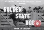 Image of cowboys Salinas California USA, 1951, second 5 stock footage video 65675039865