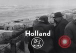 Image of destroyed houses Holland Netherlands, 1955, second 5 stock footage video 65675039867