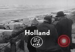 Image of destroyed houses Holland Netherlands, 1955, second 6 stock footage video 65675039867