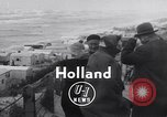 Image of destroyed houses Holland Netherlands, 1955, second 7 stock footage video 65675039867