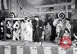 Image of fashion show San Francisco California USA, 1955, second 7 stock footage video 65675039870