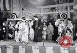 Image of fashion show San Francisco California USA, 1955, second 8 stock footage video 65675039870