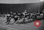 Image of track meet Los Angeles California USA, 1955, second 10 stock footage video 65675039871