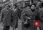 Image of Swastika graffiti in Cologne in 1961 and 1935 Nazi boycott Jewish busi Germany, 1961, second 7 stock footage video 65675039876