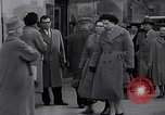 Image of Swastika graffiti in Cologne in 1961 and 1935 Nazi boycott Jewish busi Germany, 1961, second 9 stock footage video 65675039876
