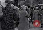 Image of Swastika graffiti in Cologne in 1961 and 1935 Nazi boycott Jewish busi Germany, 1961, second 10 stock footage video 65675039876