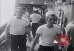 Image of sailors Formosa Strait, 1962, second 6 stock footage video 65675039883