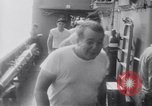 Image of sailors Formosa Strait, 1962, second 7 stock footage video 65675039883