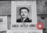 Image of Carlos Castillo Armas Guatemala, 1962, second 9 stock footage video 65675039888