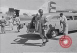 Image of Ambulance transports patient to airfield Guatemala, 1954, second 12 stock footage video 65675039889