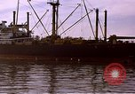 Image of freighter Saigon Vietnam, 1962, second 6 stock footage video 65675039899