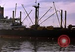 Image of freighter Saigon Vietnam, 1962, second 9 stock footage video 65675039899