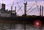 Image of freighter Saigon Vietnam, 1962, second 11 stock footage video 65675039899