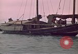 Image of junk or Chinese vessel Southeast Asia, 1962, second 11 stock footage video 65675039900