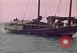 Image of junk or Chinese vessel Southeast Asia, 1962, second 12 stock footage video 65675039900