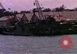 Image of landing craft Da Nang Vietnam, 1966, second 7 stock footage video 65675039907