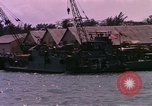 Image of landing craft Da Nang Vietnam, 1966, second 8 stock footage video 65675039907